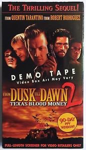 From Dusk Till Dawn 2 Promotional Demo Screener VHS Tape