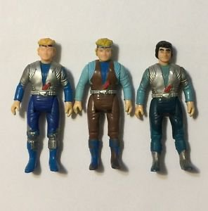 Dino Riders Lot of 3 Action Figures Llahd Valorian Orion Yungstar 1988 Tyco