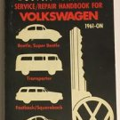 Road Baron Service Repair Handbook For Vokswagen 1961-On