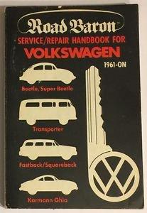 Road Baron Service Repair Handbook For Vokswagen 1961-On