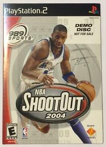 NBA ShootOut 2004 (Sony PlayStation 2, 2003) Demo DIsc