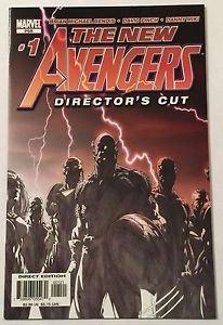 New Avengers Director's Cut #1 (2004, Marvel)