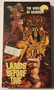 The World of Hammer: Lands Before Time (VHS, 2000)