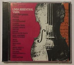 Linda Rosenthal, Violin (CD, Topaz Records) Brand New Sealed