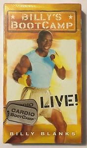 Billy's Bootcamp Cardio Bootcamp Live! VHS Brand New Sealed