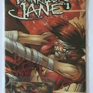 Painkiller Jane 1 (Event Comics) Dynamic Forces With Phone Card
