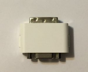 DVI To VGA Adapter White