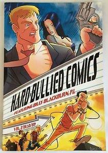 Hard-Bullied Comics Featuring Blackburn P.I. 2 Dead Zep Includes Music CD TPB
