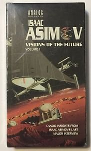 Analog Presents Isaac Asimov Visions of the Future Volume 1 VHS Last Interview