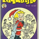 Riquinho #114 1976 Brazilian Richie Rich Edition Santa Richie Rich Cover