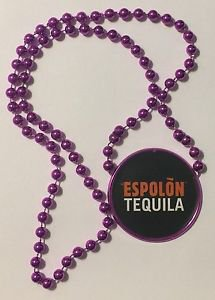 Espolon Tequila Purple Beaded Necklace