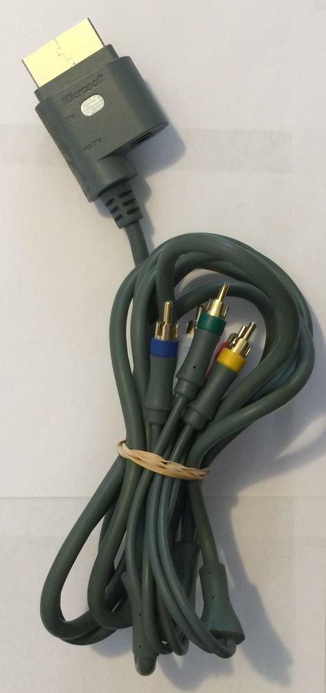 Xbox 360 X810972-002 Component HD AV Cable Authentic Microsoft Brand