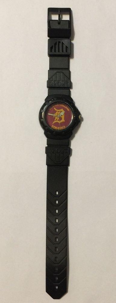 De Anza College Athletics Sport Black Criterion Wrist Watch