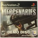 Mercenaries  (Demo Disc) (Sony PlayStation 2, 2005)