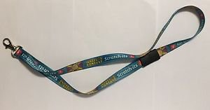 Oregon Lottery Wheel of Fortune Scratch-Its Lanyard