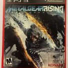Playstation 3 Metal Gear Rising Revengeance Blockbuster Artwork Display Card