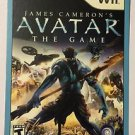 Nintendo Wii Avatar The Game Blockbuster Artwork Display Card