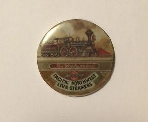 Pacific Northwest Live Steamers The Woodburn Local Pinback Button