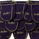 Crown Royal Lot of 25 Purple Drawstring Bags 750 ML