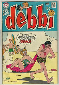 Date with Debbi #5 (Sep-Oct 1969, DC) Romance Comic