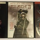 Blade Lot of 3 DVDs 1 2 and House of Chthon  Wesley Snipes Vampire