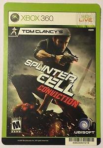 Xbox 360 Splinter Cell Conviction Blockbuster Artwork Display Card