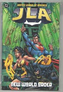 JLA New World Order (DC Comics) TPB Graphic Novel Justice League Of America