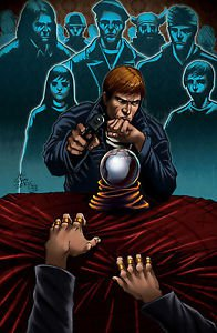 Ghost Assassin In The Cards 11x17 Inch Poster Darkslinger Comics