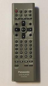 Panasonic EUR7617020 DVD Player Remote Control Controller
