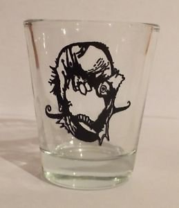Who Will Save The World Zombie Shot Glass Stefano Cardoselli Artwork Darkslinger