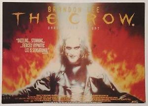 The Crow Postcard Brandon Lee Underground BO037