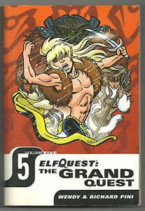 Elfquest The Grand Quest Volume 5 (DC Comics) Digest TPB Graphic Novel