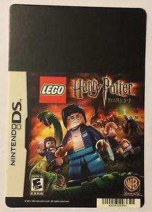 Nintendo DS Lego Harry Potter Years 5-7 Blockbuster Artwork Display Card