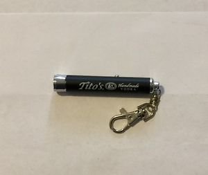 Tito's Handmade Vodka Symbol Light Keychain