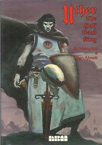 Uther, the Half Dead King (1994, NBM) Graphic Novel By Bo Hampton & Dan Abnett