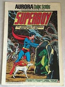 Superboy Aurora Comic Scenes For Kit #186 Comic Supplement GD/VG