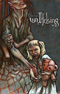 Chronicles of Van Helsing Sally's Feeding Time 11x17 Inch Poster by Tony Morgan