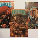 Adventurers Book III Issues #4 5 6 Autographed By Page Groh (Adventure Comics)