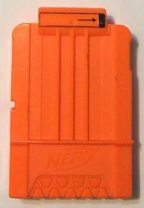 Nerf Ammo Clip 2009 Hasbro C-031D Solid Orange
