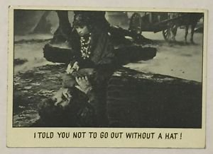 You'll Die Laughing #9 Universal Pictures Monsters Trading Card