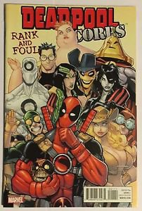 Deadpool Corps: Rank and Foul #1 (May 2010, Marvel) VF Condition
