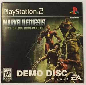 Marvel Nemesis: Rise of the Imperfects  (Demo Disc) (Sony PlayStation 2)