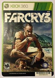 Xbox 360 Farcry 3 Blockbuster Artwork Display Card