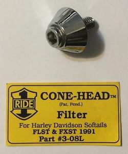 Harley Davidson Softail Cone Head Filter Bolt FLST FXST 1991 Part 3-08L