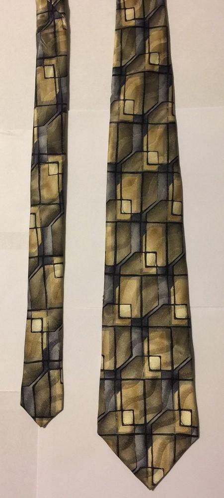 Murano Extra Long Silk Necktie Multicolored