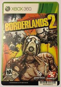 Xbox 360 Borderlands 2 Blockbuster Artwork Display Card
