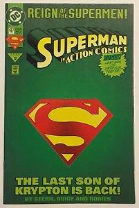 Superman Action Comics #687 DM (Jun 1993, DC) FN Condition Reign of The Supermen