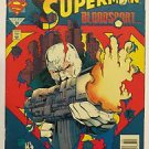 Adventures of Superman #507 Dec 1993 DC FN/VF Condition Spilled Blood First Cut