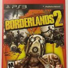 Playstation 3 Borderlands 2 Blockbuster Artwork Display Card