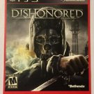 Playstation 3 DisHonored Blockbuster Artwork Display Card